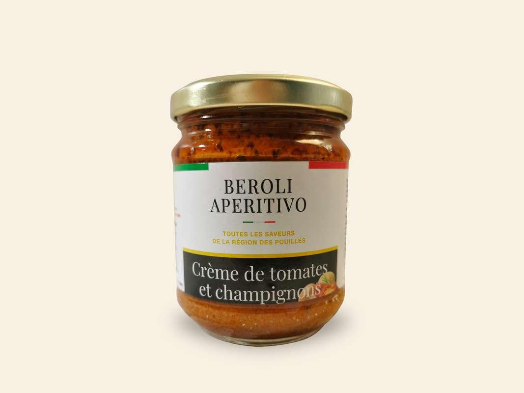 Crème de tomates et champignons, Beroli Aperitivo (180 g)