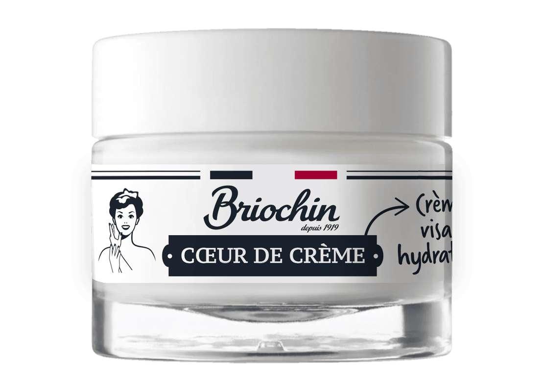 Crème de visage coeur de crème, Briochin (50 ml)