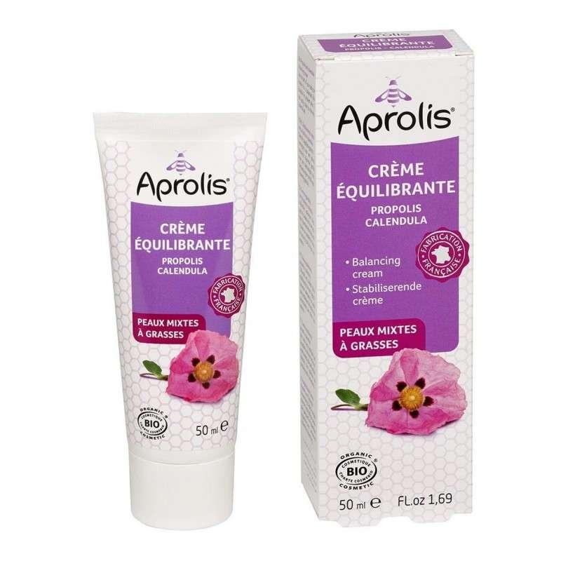 Crème équilibrante à la propolis BIO, Aprolis (50 ml)