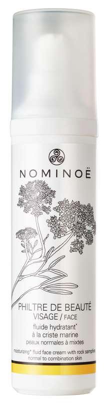 Crème fluide hydratante visage Philtre de Beauté BIO, Nominoë (50 ml)