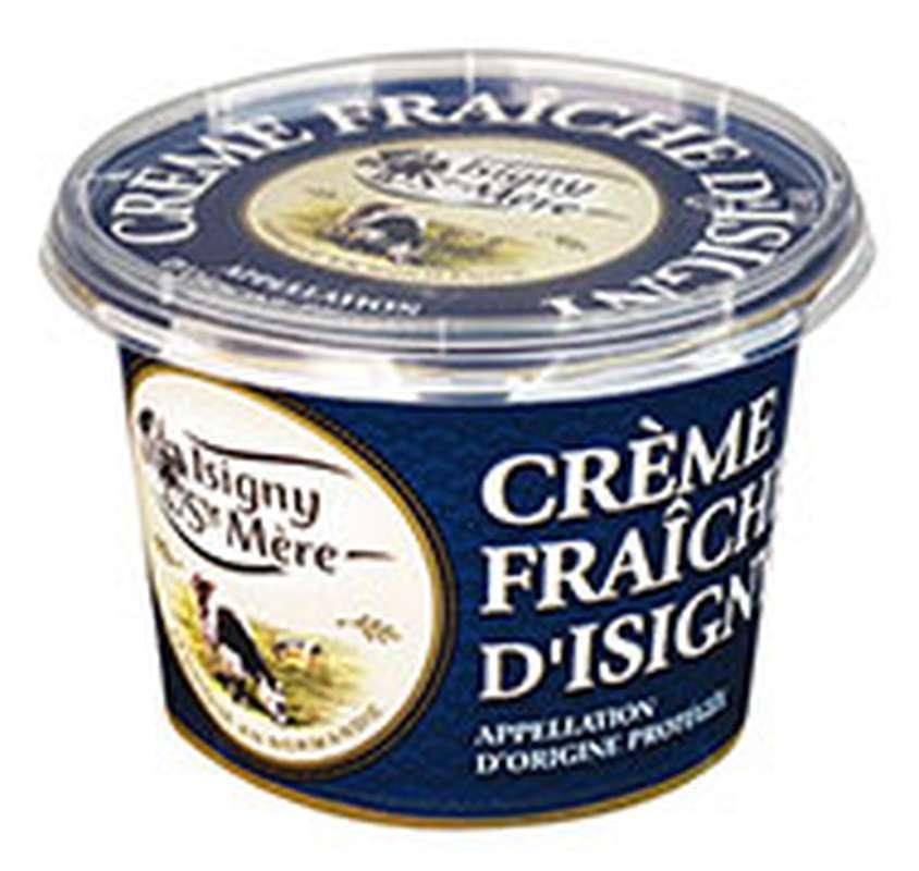 Crème fraîche d'Isigny 35% MG, Isigny Ste Mère (20 cl)