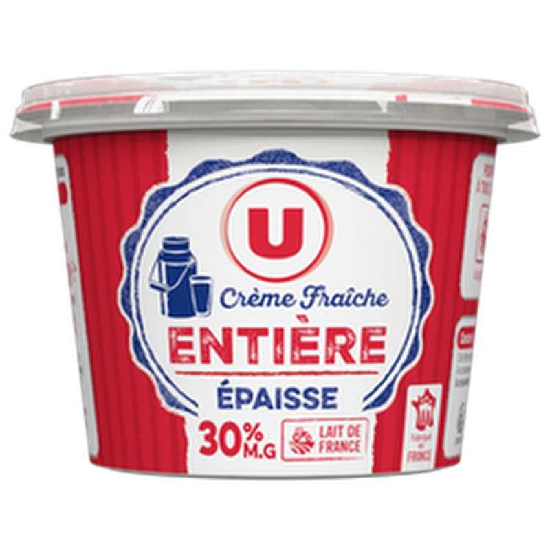 Crème fraîche épaisse 30% M.G., U (20 cl)