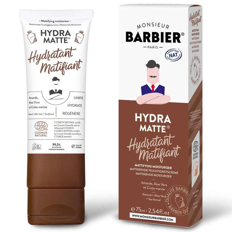 Crème visage hydratante et matifiante, Monsieur Barbier (75 ml)