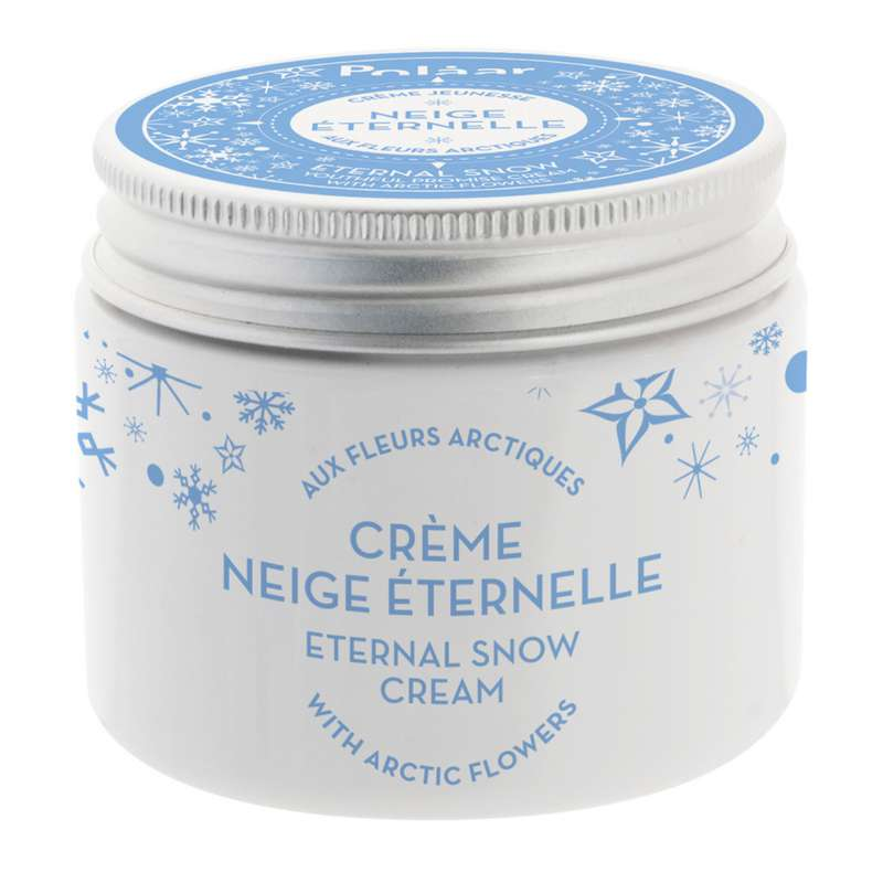Crème visage jeunesse Neige Éternelle aux fleurs arctiques, Polaar (50 ml)