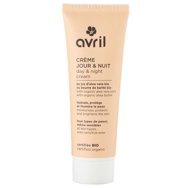 Crème de jour et nuit certifiée BIO, Avril (50 ml)