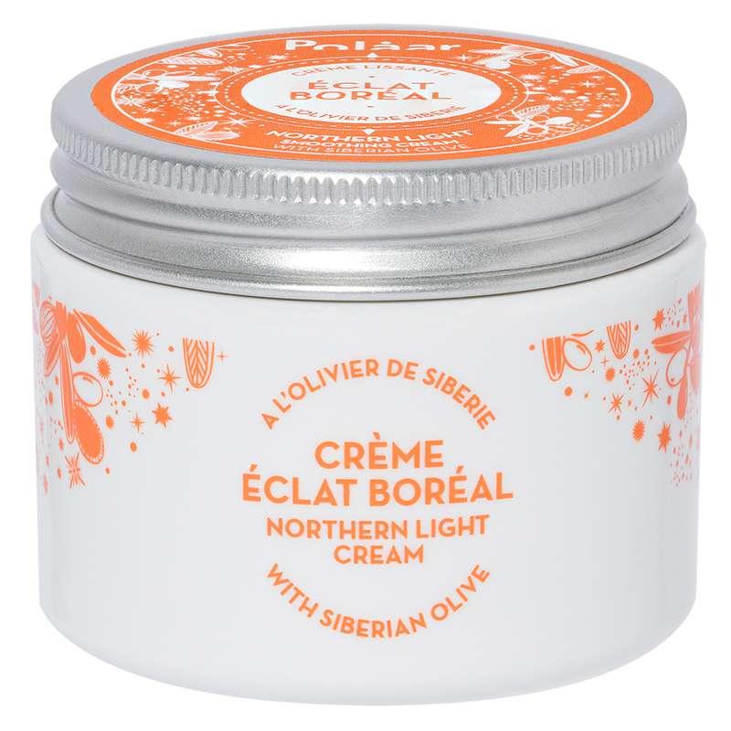 Crème visage lissante Éclat Boréal à l'olivier de Sibérie, Polaar (50 ml)
