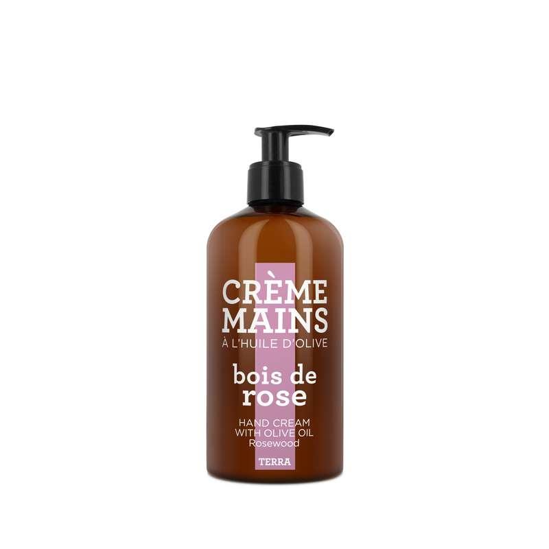 Crème mains à l'huile d'olive - Bois de Rose, Terra (300 ml)