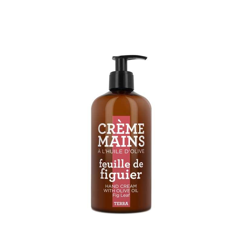 Crème mains à l'huile d'olive - Feuille de Figuier, Terra (300 ml)