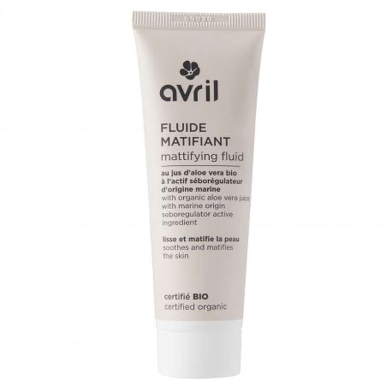 Fluide matifiant certifié BIO, Avril (50 ml)