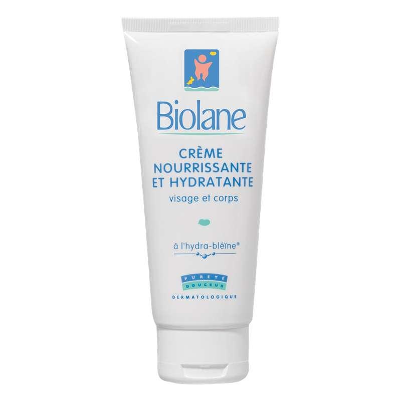 Crème nourrissante et hydratante, Biolane (100 ml)
