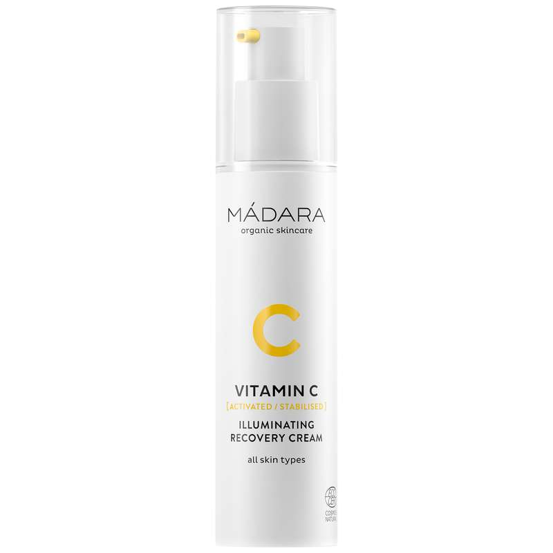 Crème régénérante illuminatrice à la vitamine C BIO, Madara (50 ml)