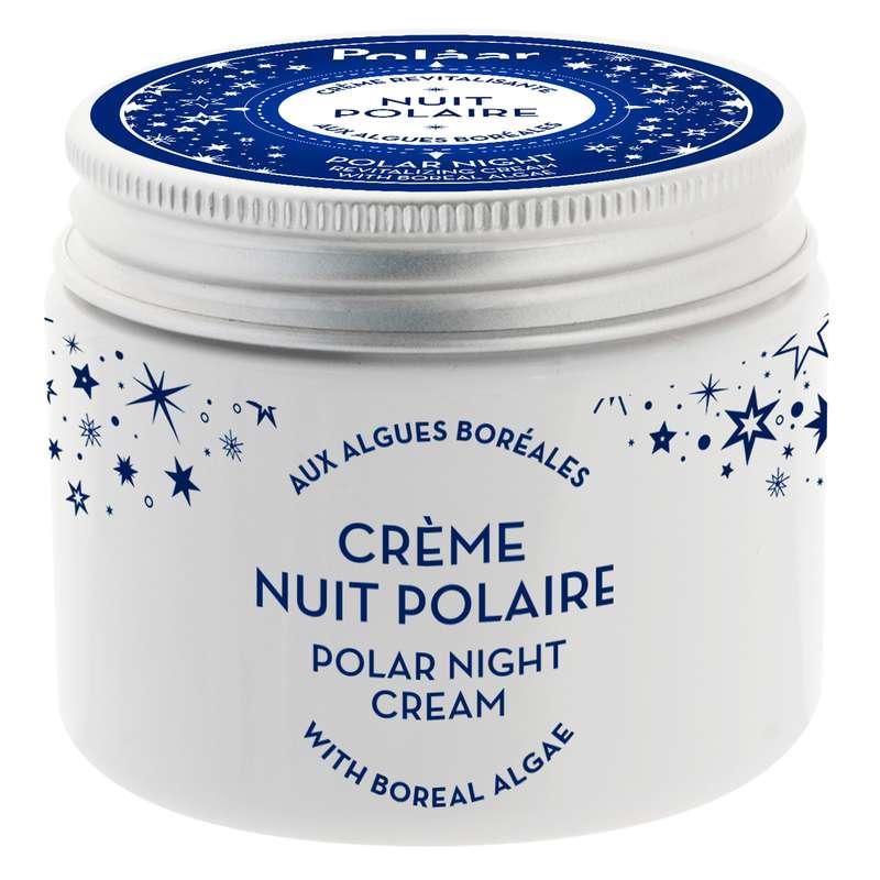 Crème visage revitalisante Nuit Polaire aux algues boréales, Polaar (50 ml)