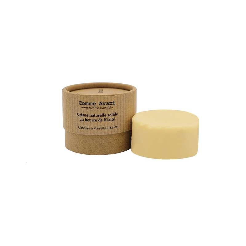 Crème solide au beurre de karité BIO, Comme Avant (50 g)