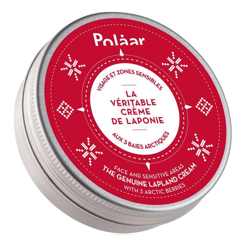 Crème visage et zones sensibles La Véritable Crème de Laponie aux 3 baies arctiques, Polaar (50 ml)