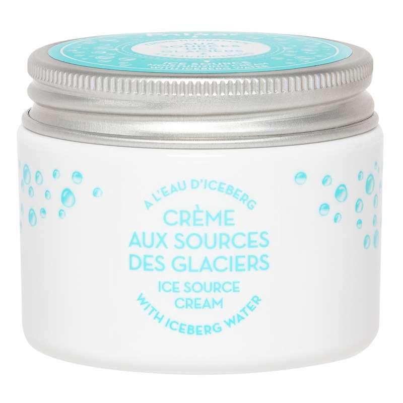 Crème visage hydratante Aux Sources des Glaciers à l'eau d'iceberg, Polaar (50 ml)