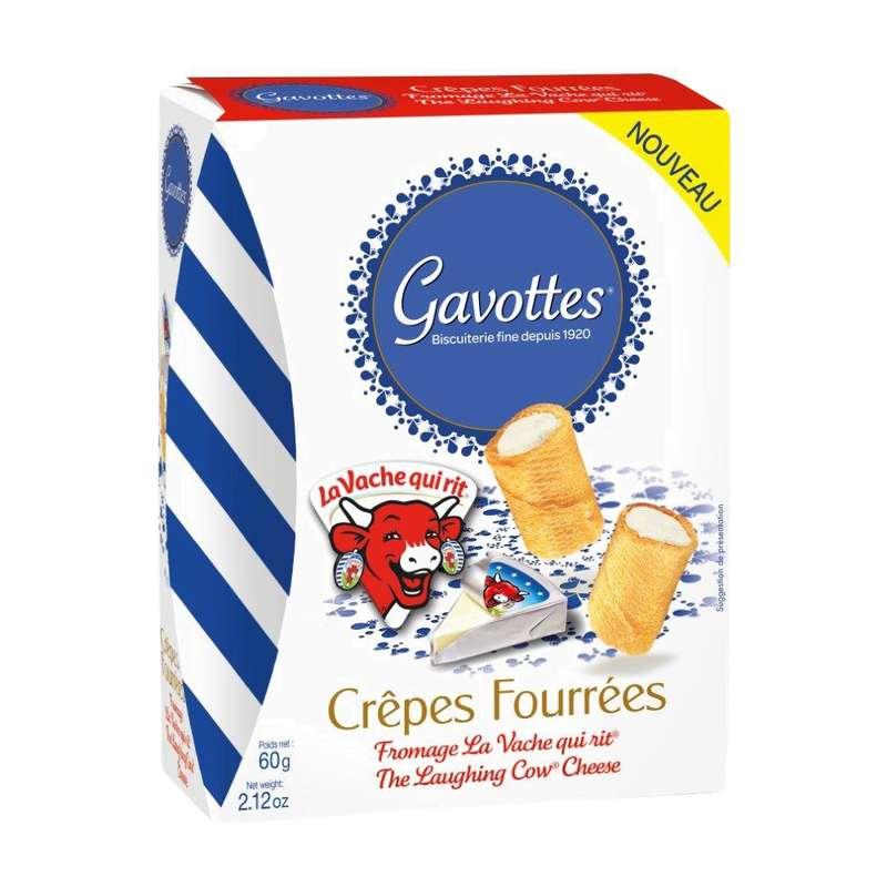 Crêpes fourrées à La Vache qui rit, Gavottes (60 g)