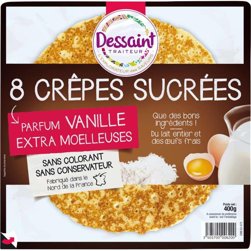 Crêpes moelleuses sucrées, Daniel Dessaint (x 8, 400 g)