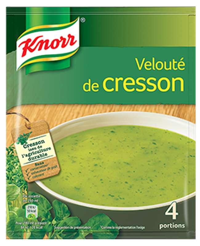 Potage velouté de cresson déshydraté, Knorr (4 portions)