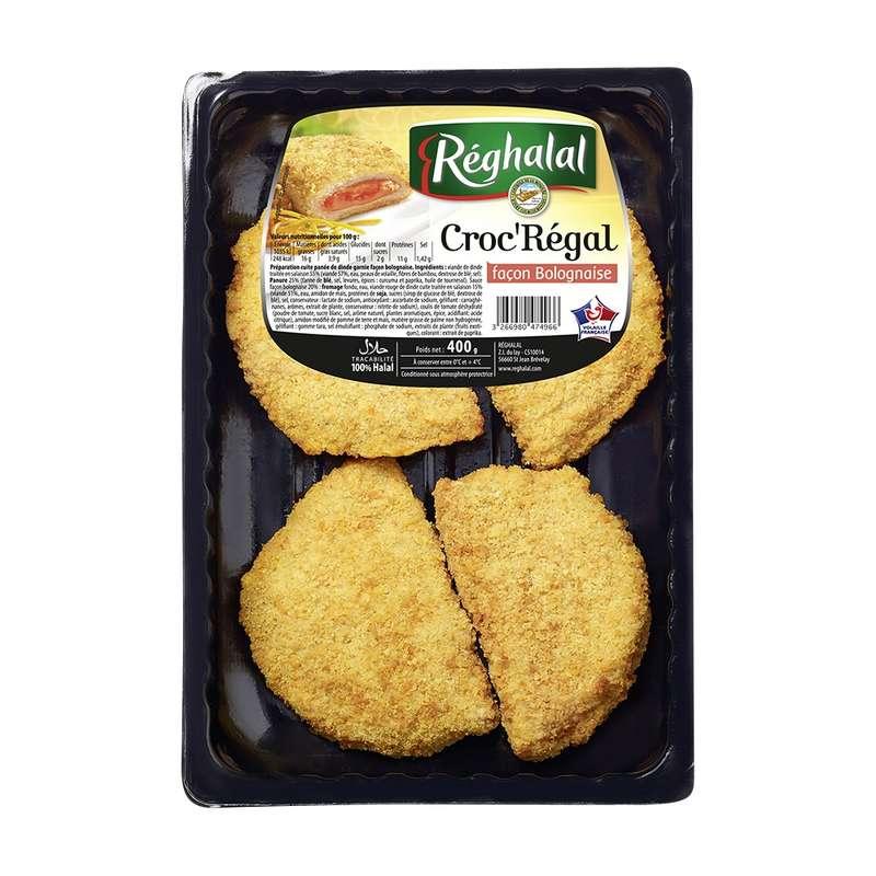 Croc'régal à la bolognaise Halal, Reghalal (x 4, 400 g)