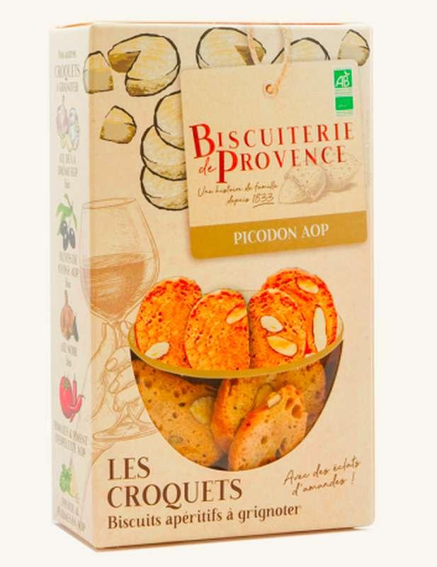 Croquets de Provence Picodon AOP BIO,  Biscuiterie de Provence (90 g)