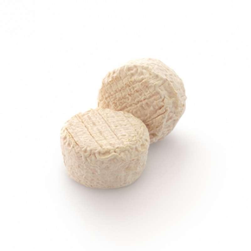 Crottins affinés de chèvre BIO, 22 % MG/PF (x 2, 120 g)