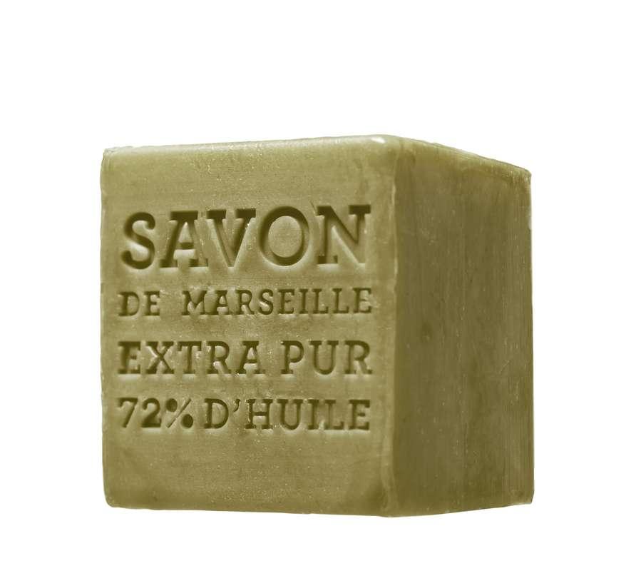 Cube de savon de Marseille à l'olive, Terra (400 g)