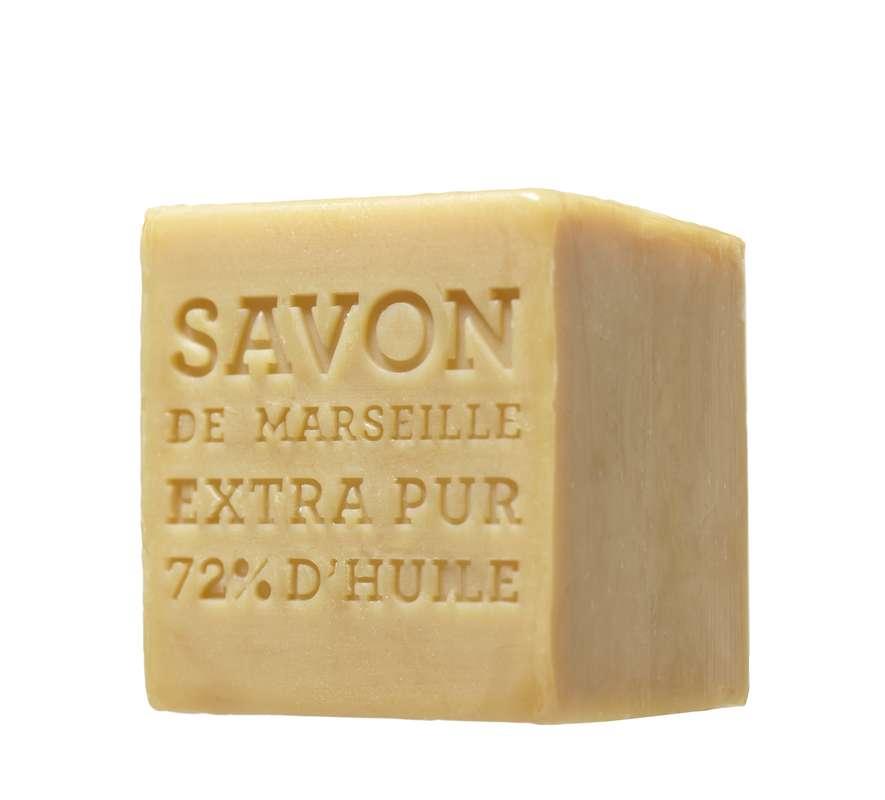 Cube de savon de Marseille sans parfum, Terra (400 g)