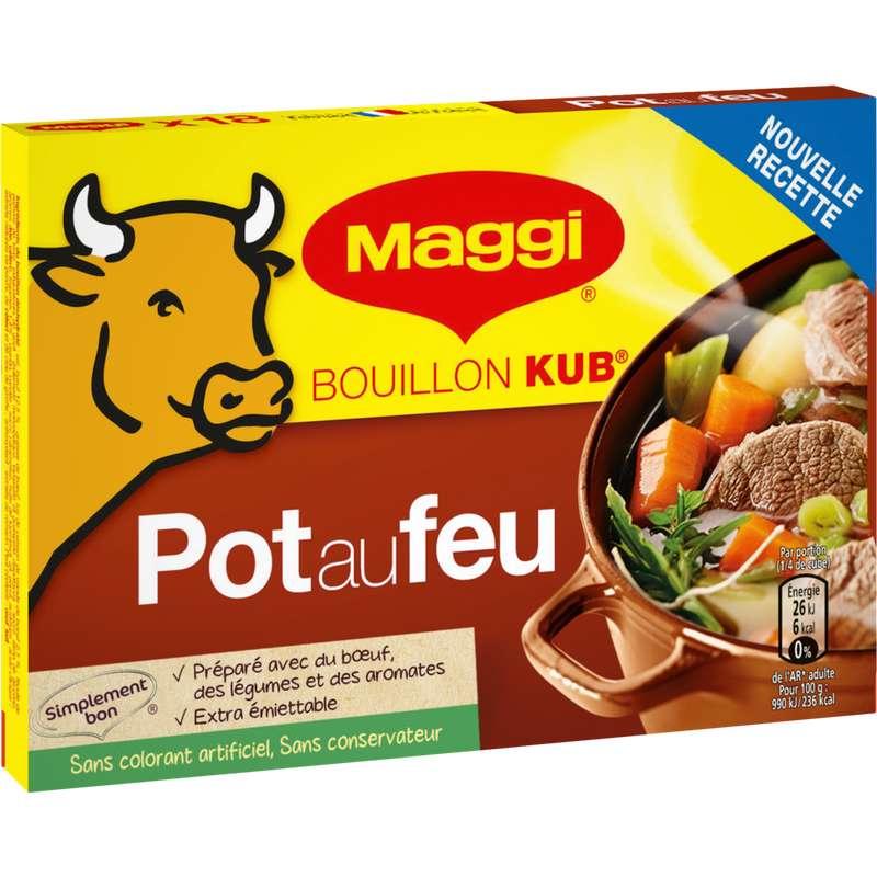 Bouillon goût pot au feu, Maggi (18 tablettes, 180 g)