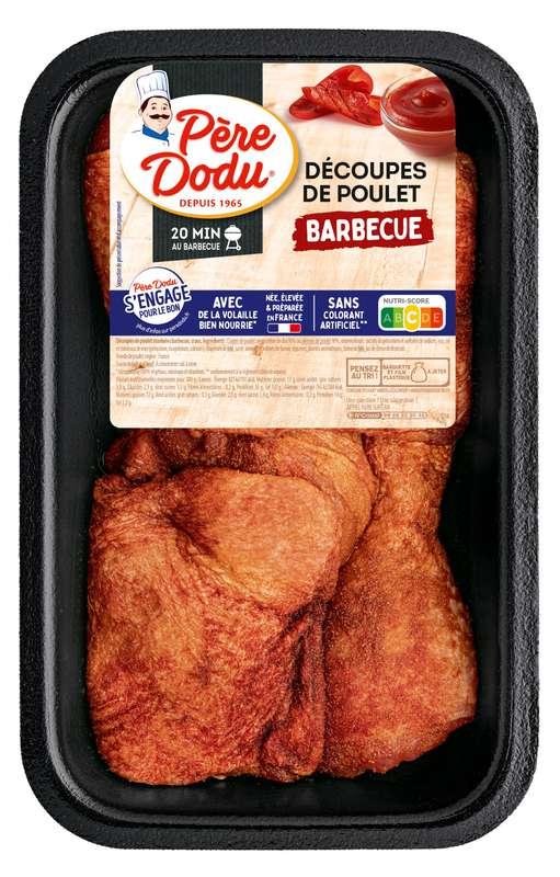 Cuisse de poulet saveur barbecue, Père Dodu (550 g)
