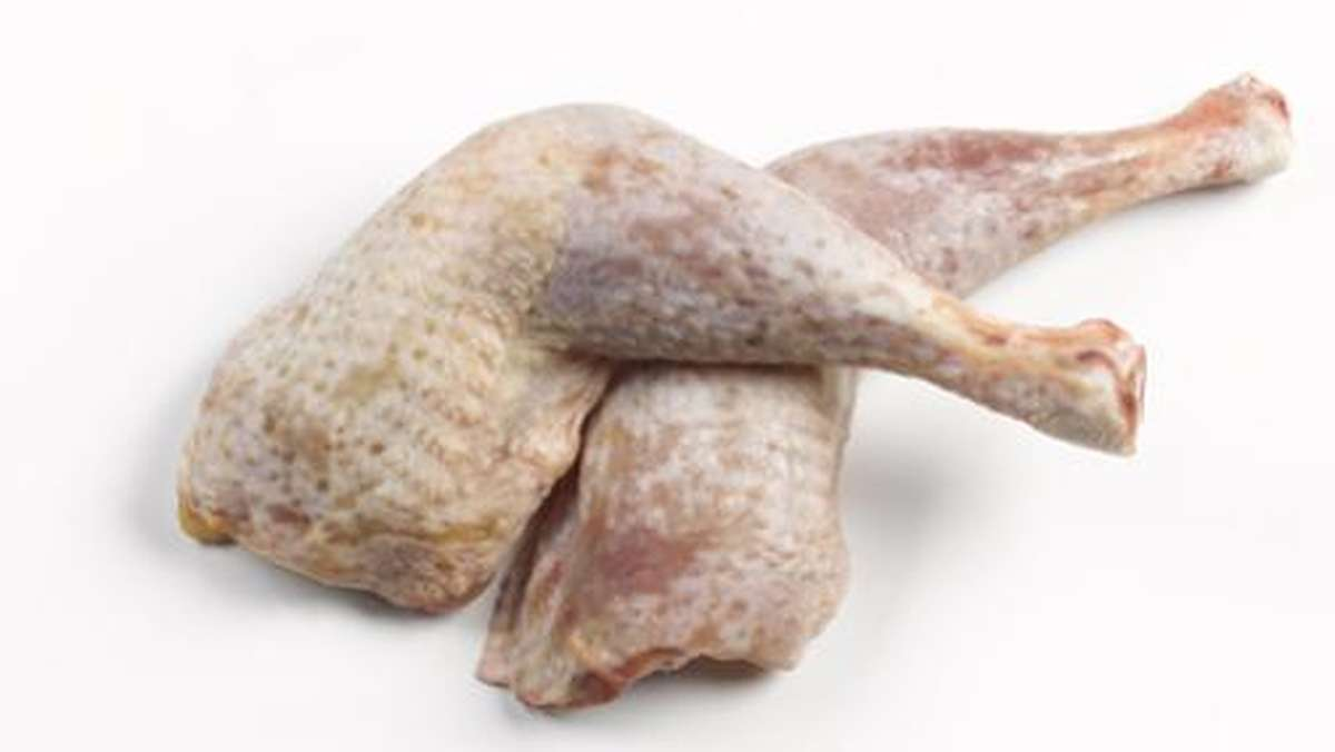 Cuisse de poulet fermier de l'Aveyron, ferme de Quintard pour Maison Conquet (x 2, de 800 à 850 g)