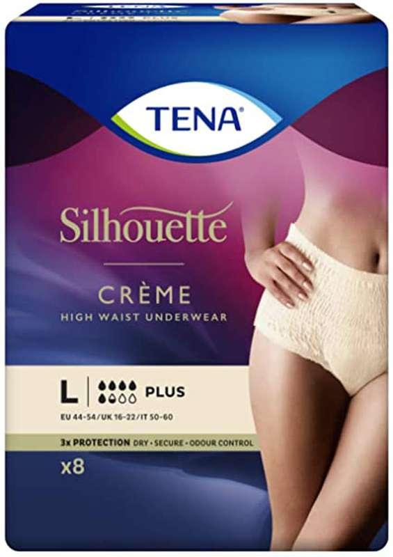 Culottes anti-fuites silhouette Plus taille L, Tena Lady (x 8)