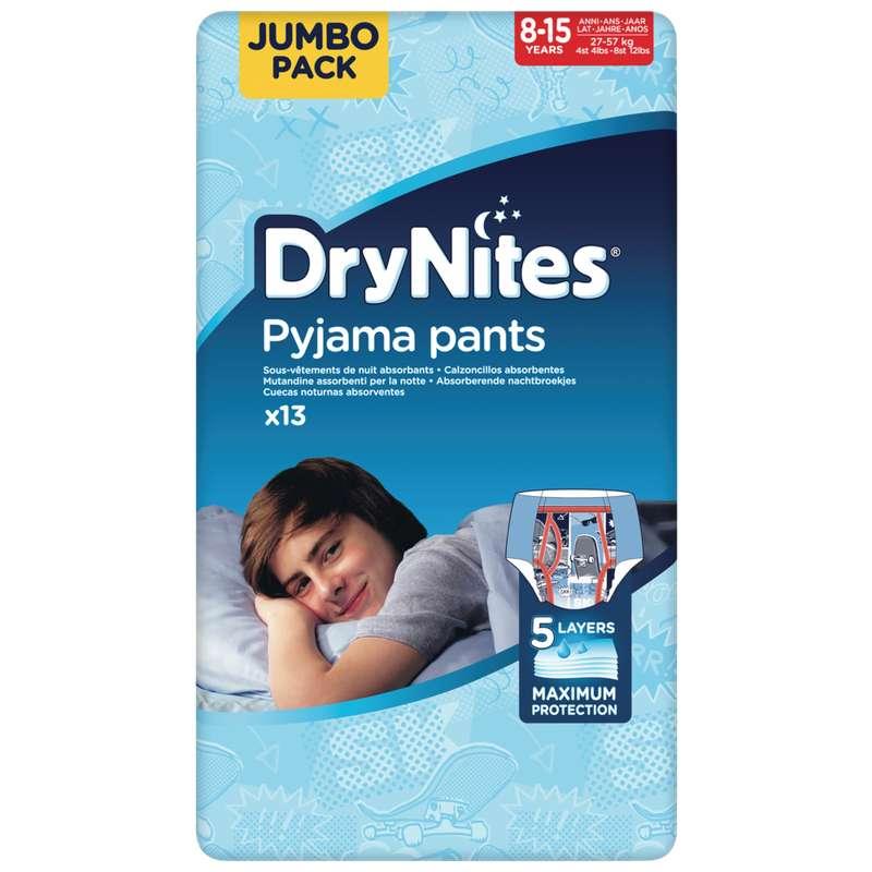 Culottes drynites 8-15 boys Disney / 27-57kg, Huggies (x 13)