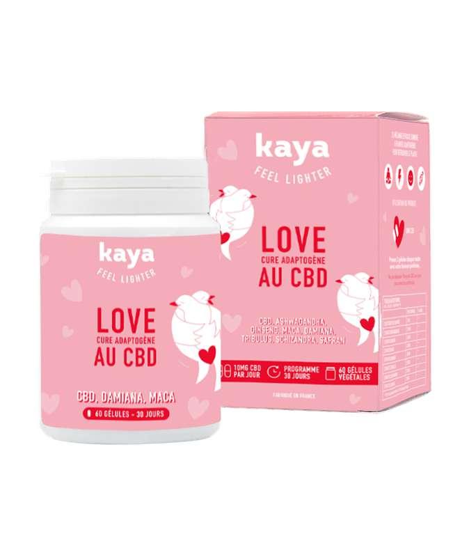 Cure adaptogène Love au CBD, Kaya (x60)