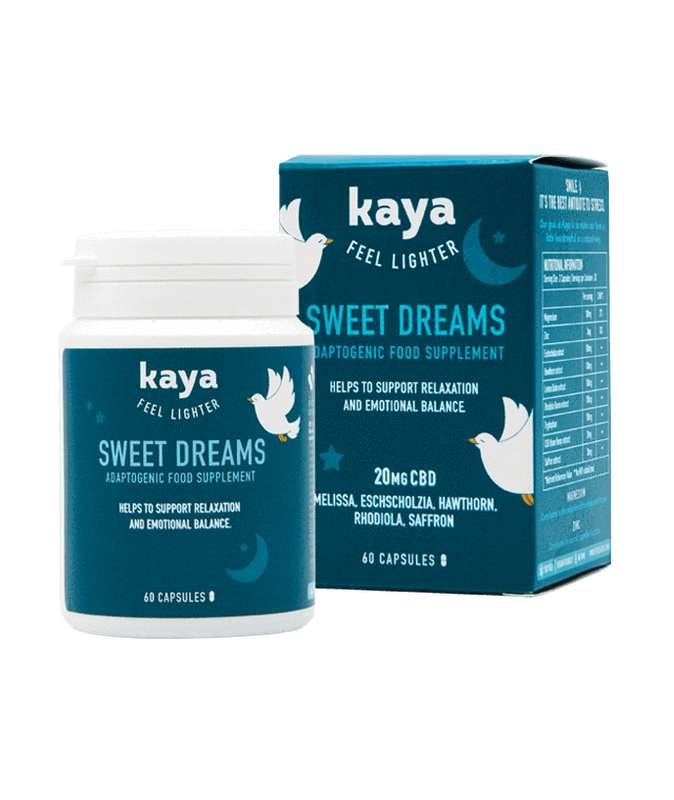 Cure adaptogène sommeil Sweet Dreams, Kaya (x60)