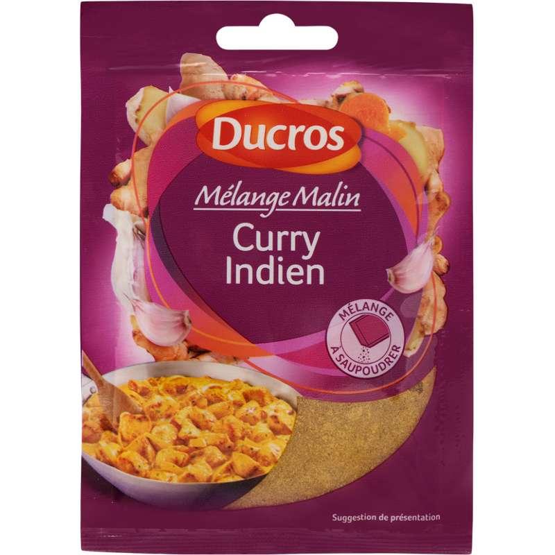 Assaisonnement pour Curry indien Mélange Malin, Ducros (20 g)