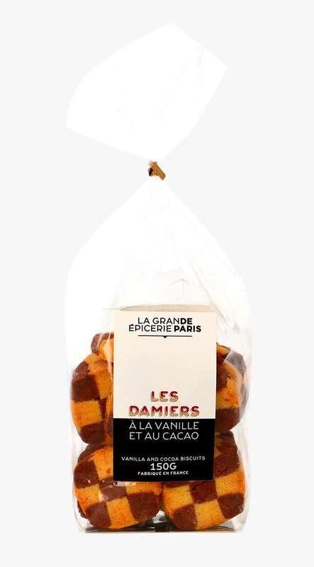 Damiers à la vanille et au cacao, La Grande Epicerie de Paris (150 g)