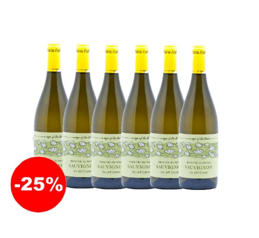 Dans l'air du temps blanc chardonnay 2018 (75 cl, caisse de 6)