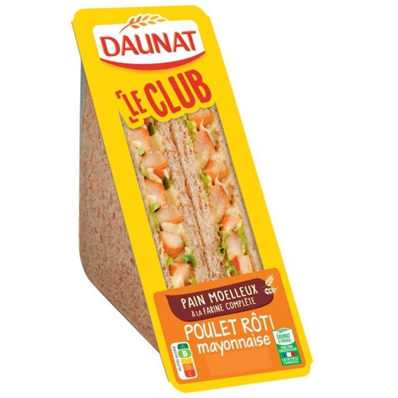 Sandwich poulet rôti, Daunat (160 g)