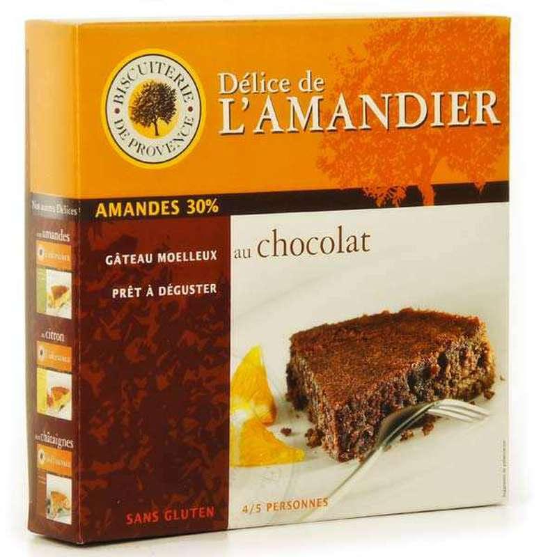 Délice d'Amandier chocolat Sans Gluten, Biscuiterie de Provence (240 g)