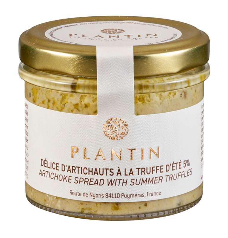 Délice d'artichauts à la truffe d'été 5%, Plantin (100 g)