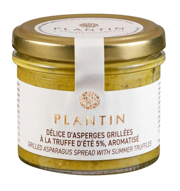 Délice d'asperges grillées à la truffe d'été 5% aromatisé, Plantin (100 g)