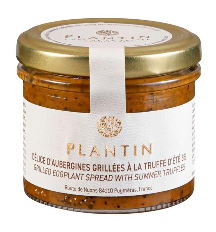 Délice d'aubergines grillées à la truffe d'été 5%, Plantin (100 g)
