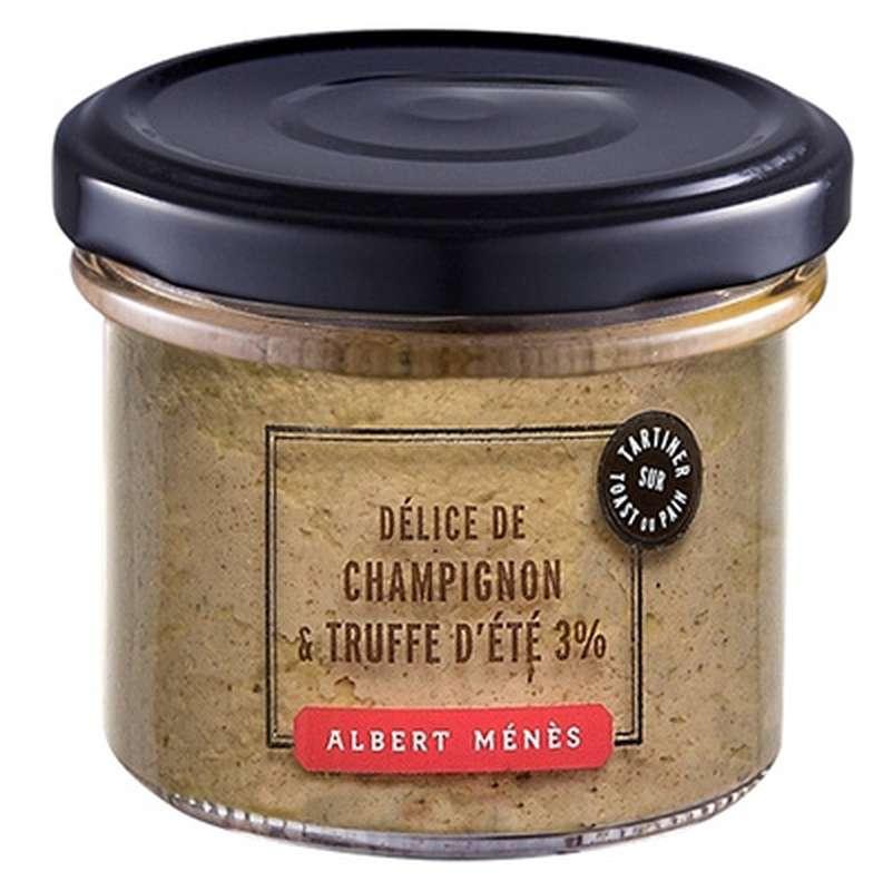 Délice de champignon et truffe d'été 3%, Albert Ménès (100 g)