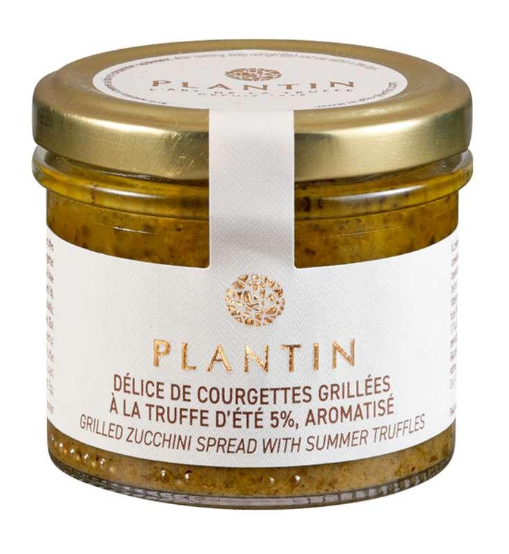 Délice de courgettes grillées à la truffe d'été 5% aromatisée, Plantin (100 g)
