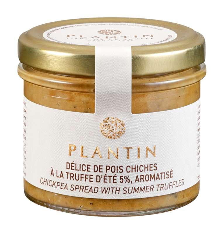 Délice de pois chiches à la truffe d'été 5% aromatisé, Plantin (100 g)