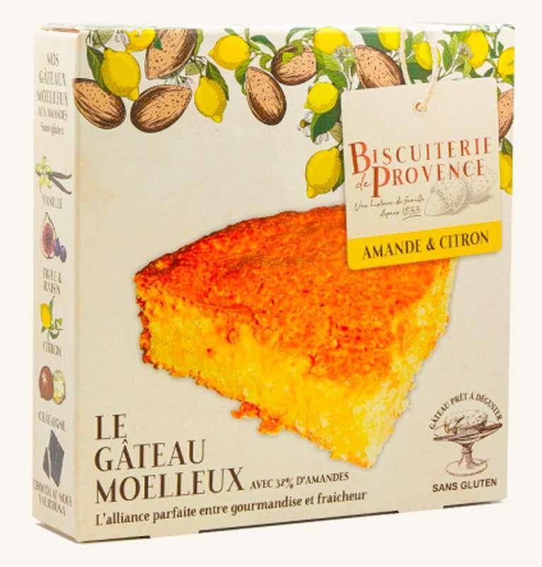 Délice d'Amandier citron Sans Gluten, Biscuiterie de Provence (240 g)
