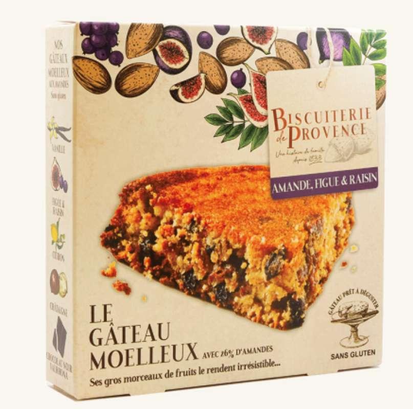 Délice d'Amandier figues et raisins Sans Gluten, Biscuiterie de Provence (240 g)