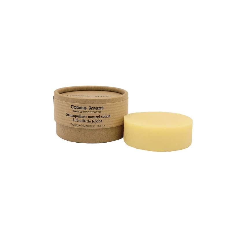 Démaquillant solide à l'huile de jojoba BIO, Comme Avant (40 g)