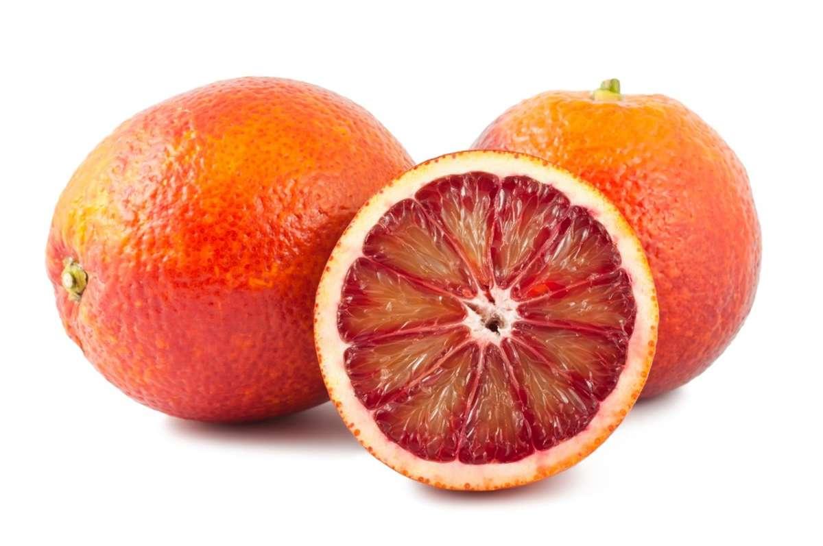 Orange demi sanguine Tarocco BIO (calibre moyen), Italie