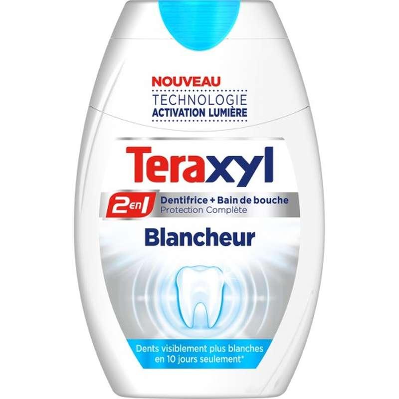 Dentifrice 2 en 1 blancheur, Teraxyl (75 ml)